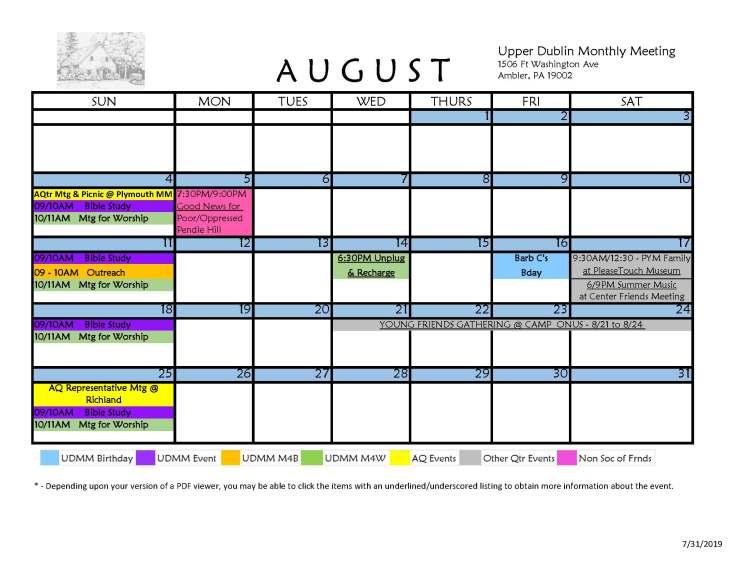 08-2019 UDMM Public Calendar